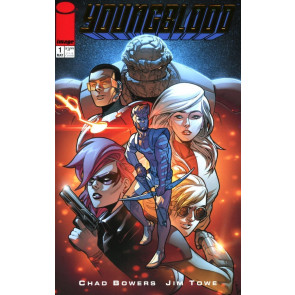Youngblood (2017) #1 VF/NM-NM Rob Liefeld Retailer Gold Foil Variant Image