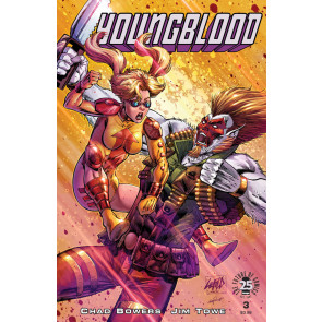 Youngblood (2017) #3 VF/NM Rob Liefeld Cover Image