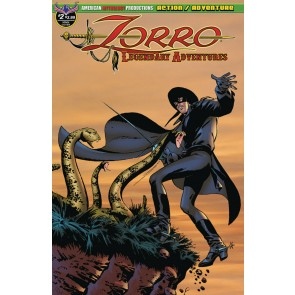 Zorro: Legendary Adventures (2019) #2 of 4 VF/NM American Mythology Productions