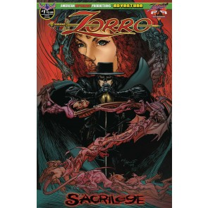Zorro: Sacrilege (2019) #1 of 4 VF/NM American Mythology Productions
