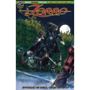 Zorro: Swords of Hell (2019) #3 of 4 VF/NM American Mythology Productions