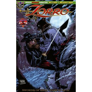 Zorro: Swords of Hell (2018) #4 VF/NM Neil Vokes Werewolf Attack Variant Cover