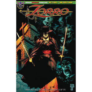 Zorro: Swords of Hell (2018) #1 VF/NM American Mythology Productions
