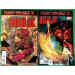 Hulk (2008) 34 & 35 VF/NM (9.0) complete set Planet Red Hulk 2 part story arc