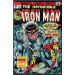Iron Man (1968) #74 FN (6.0) War of the Super-Villains Modok Mad-Thinker