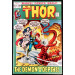 THOR #204 VF- PICTURE FRAME COVER STAN LEE JACK KIRBY