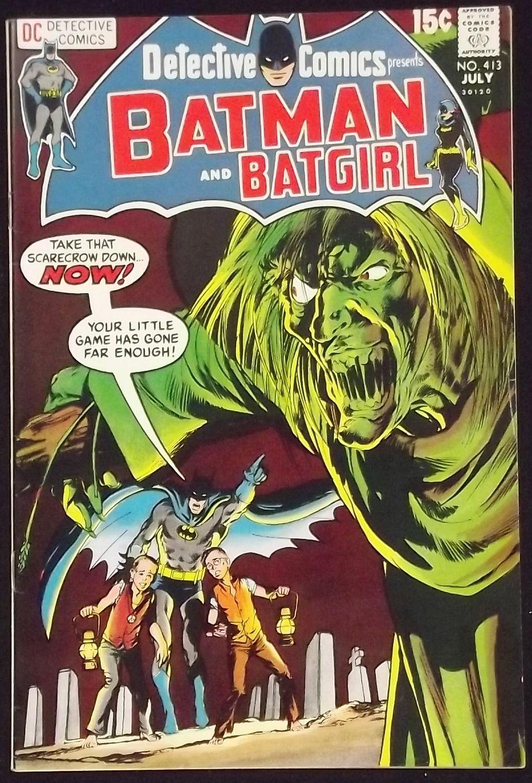 DETECTIVE COMICS #413 VF+ BATMAN BATGIRL NEAL ADAMS COVER ... | 924 x 1360 jpeg 262kB