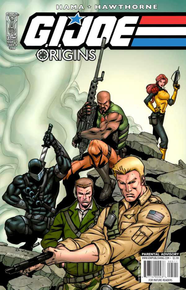 GI Joe Origins 1B VF 2009 Stock Image