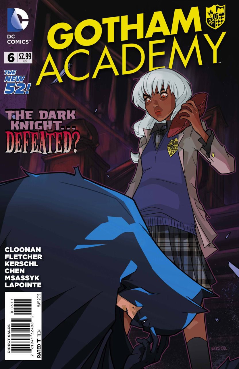 #6 VF//NM THE NEW 52! GOTHAM ACADEMY 2014