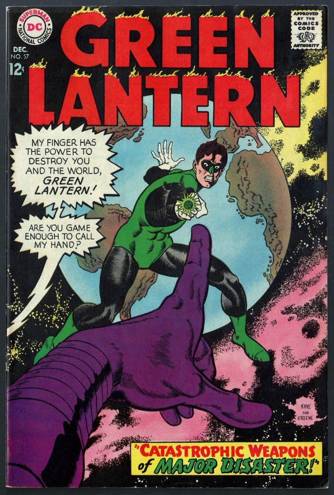 green lantern 1960 57 fn vf 7 0