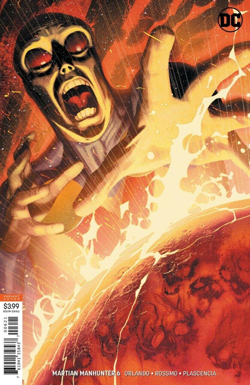 Martian Manhunter #1  Joshua Middleton Variant DC Comics 2018 NM