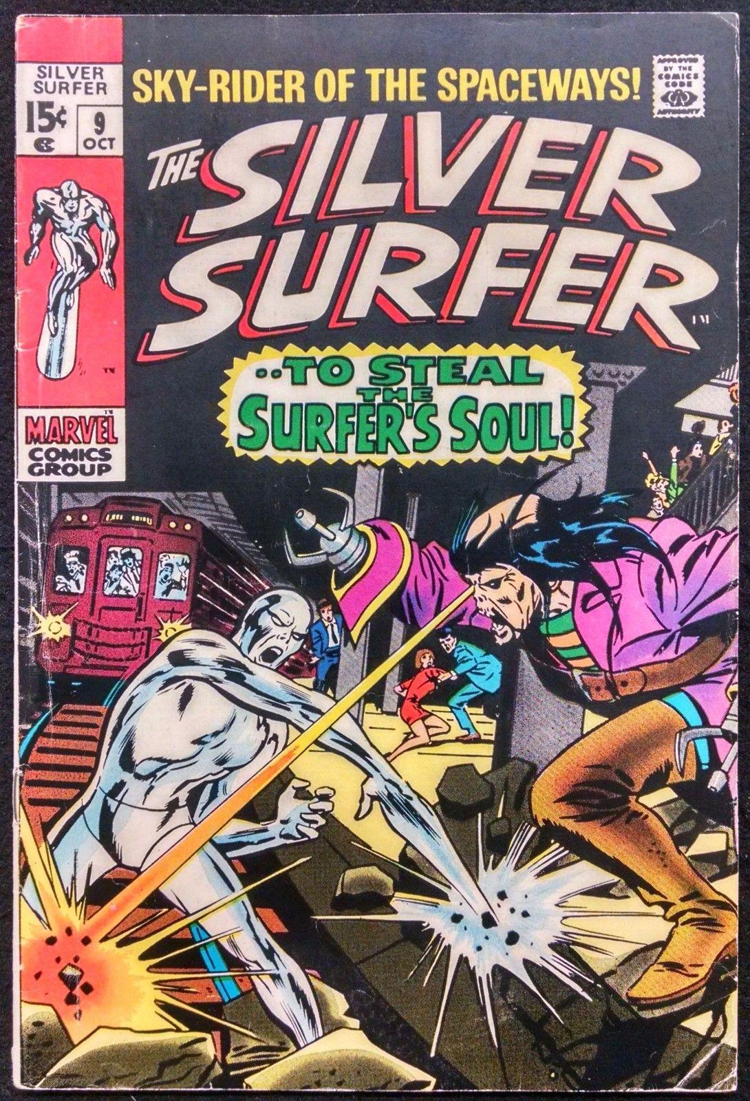 Silver Surfer 9 Fn Silver Age Comics