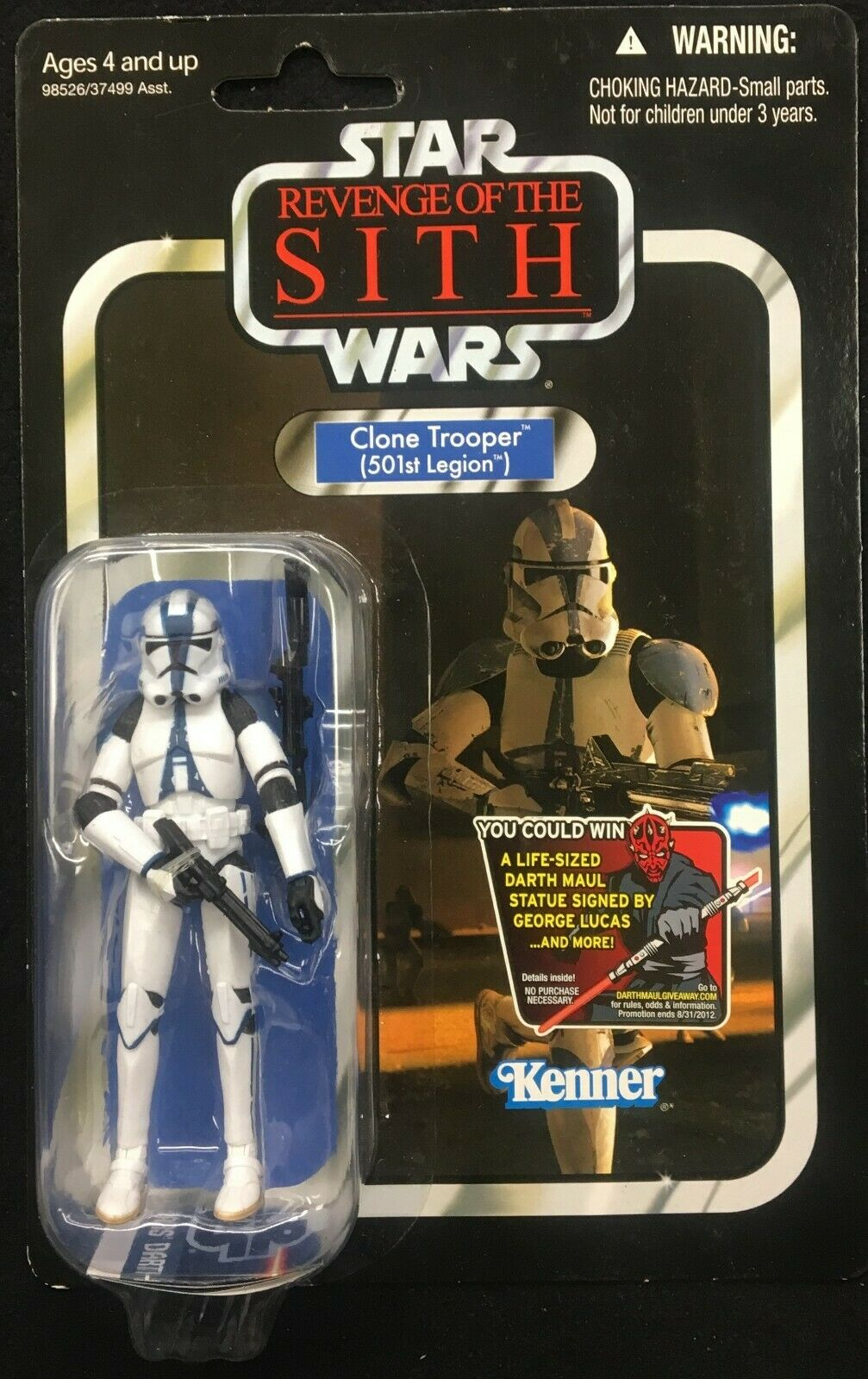 Star Wars Revenge Of The Sith Clone Trooper 501st Legion Vintage Collection Vc60