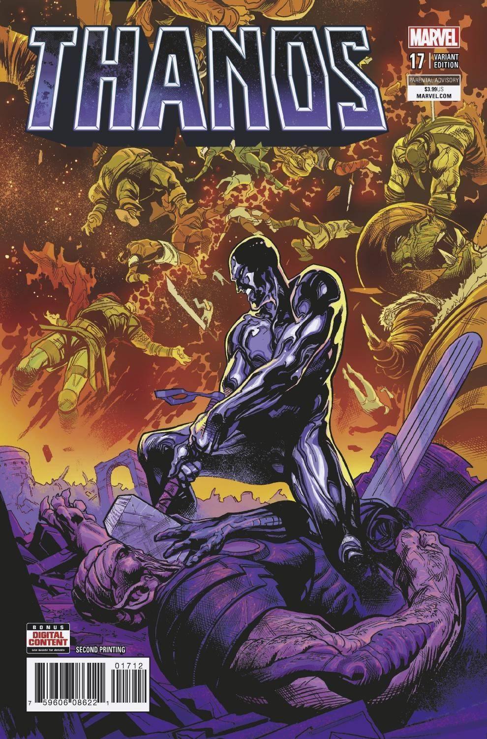 Thanos #17 Ward Variant Cosmic Ghost Rider Marvel Comics EXCELSIOR BIN
