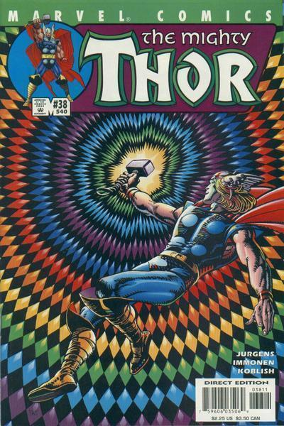 THOR (1998) #38 NM BARRY WINDSOR SMITH COVER - Silver Age ... | 400 x 600 jpeg 66kB