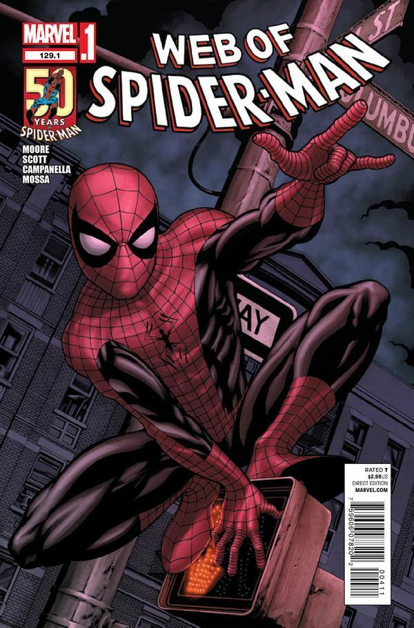 Web Of Spider Man 129 1 Nm Amazing Spider Man 2012 Silver Age Comics